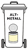 Metallcontainer